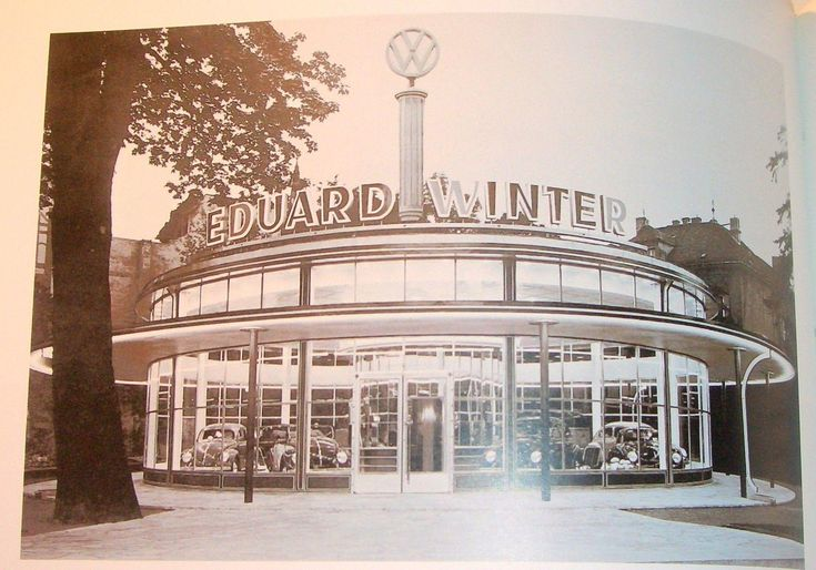 Book on VW dealer architecture.