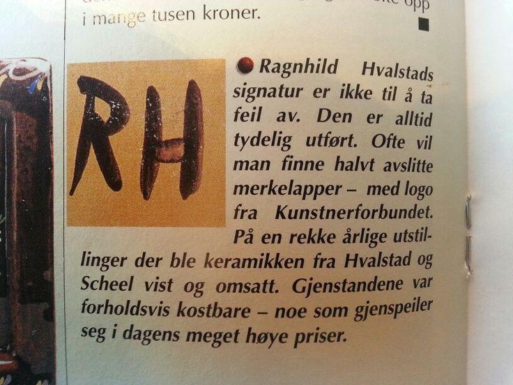 Ragnhild Hvalstad - Norge