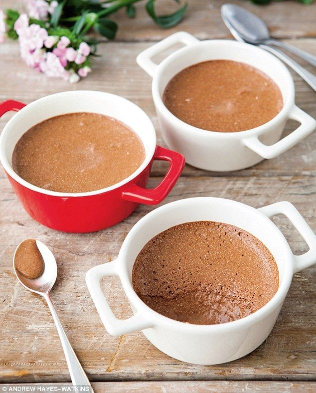Davina Mccall's Sugar Free - Chocolate Mousse: A corker of a recipe to crack out at a dinner party, this mousse is so good that no one can quite believe it doesn't contain refined sugar.