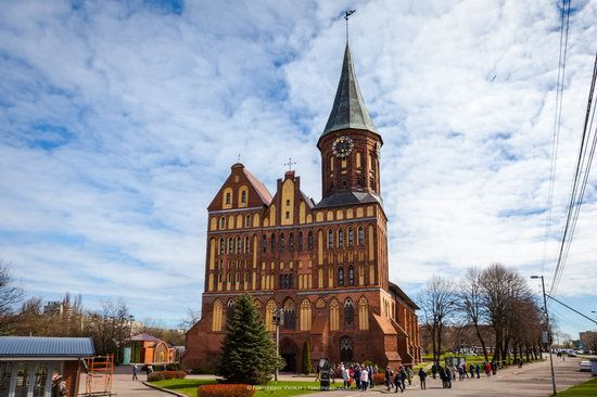 Gothic Cathedral in Kaliningrad, Russia