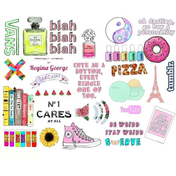 collage tumblr stickers   pixshark     images