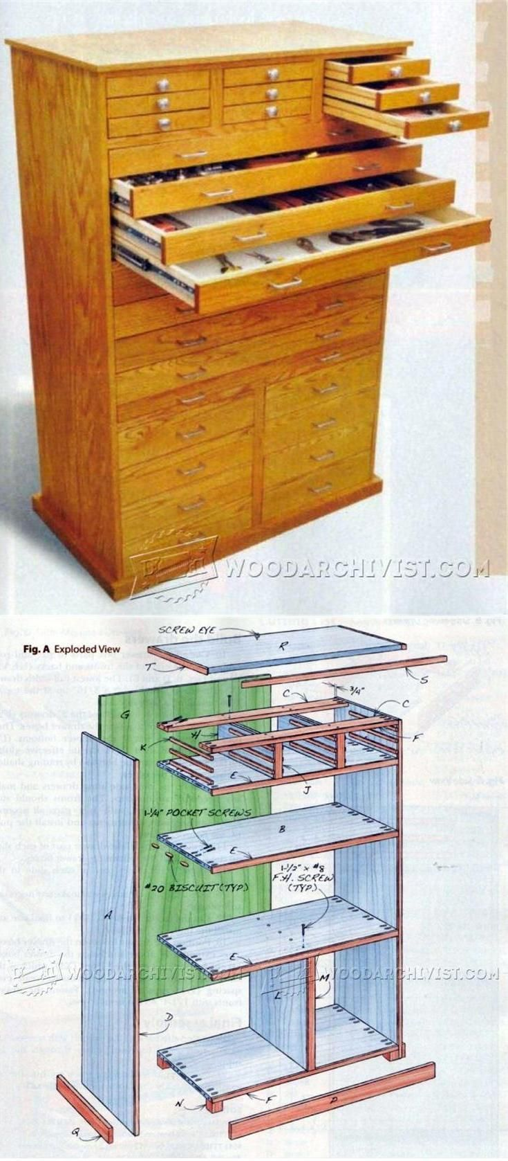 Ginormous Shop Cabinet Plans - Workshop Solutions Plans, Tips and Tricks | WoodArchivist.com