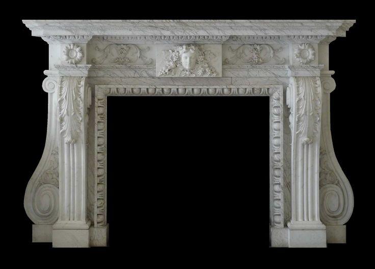 Bilderesultat for carved marble wall panels