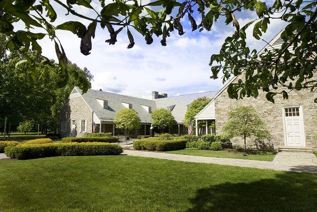 Franklin Delano Roosevelt Presidential Library & Museum in Hyde Park, New York