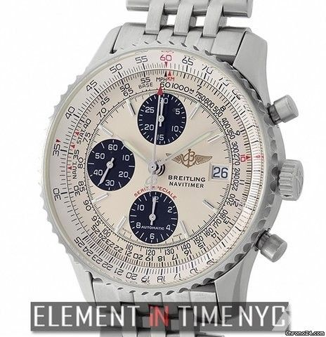 Breitling Navitimer Breitling Fighters Chronograph Steel 42mm Panda Dial 2004 Ref. A13330 Price On Request