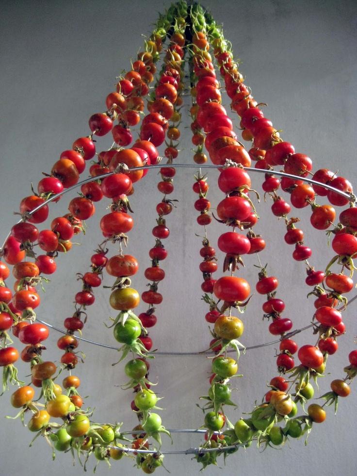 VMSomⒶ KOPPA  Perles de tomates suspendues ...  Et tant d'autres imaginations, chez VMSoma ... Un talent incontournable, aux ressources infinies ...    Belles découvertes à suivre ...