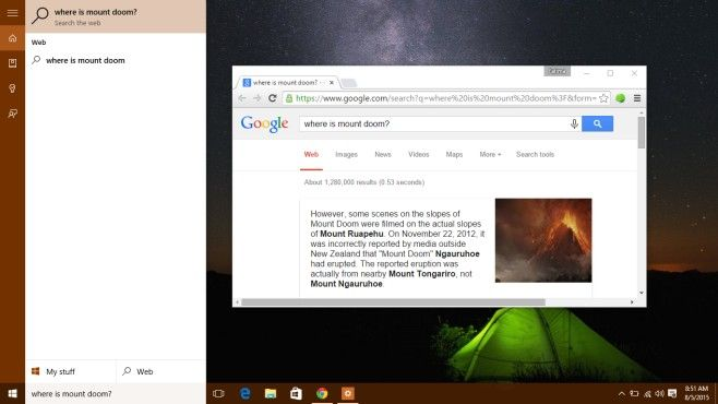How To Make Cortana Use Google Search In Chrome And Firefox