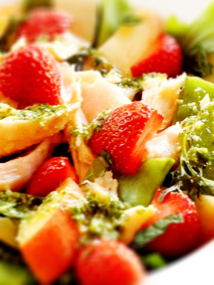 summer smoked chicken salad: Brown Rice Salad, Food Ideas, Chicken Salads, Chicken Dishes, Food Inspiration, Comforter Food, Dl Food, Power Salad, Food Drinks