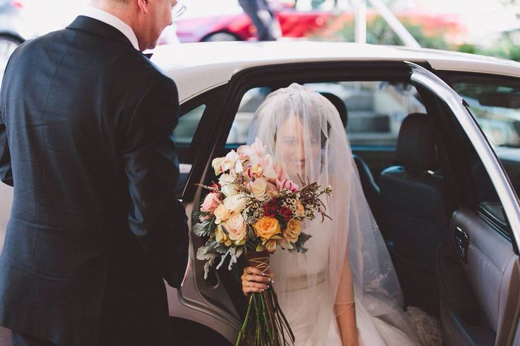 #sydney #wedding #2015 #pastel #flowers #bouquet #longstem #bluesuit #blue #suit #cathedral #veil #flowercrown #church #vintage  #decor