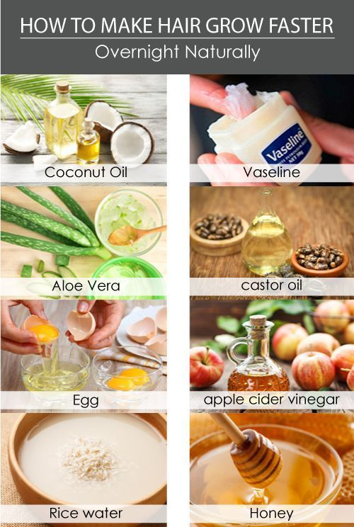 How To Make Hair Grow Faster Overnight Naturally : Beauty Tips for Hair  #Beauty…