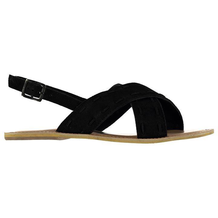 Firetrap | Firetrap Coal Cross Over Ladies Sandals | Ladies Sandals and Flip Flops