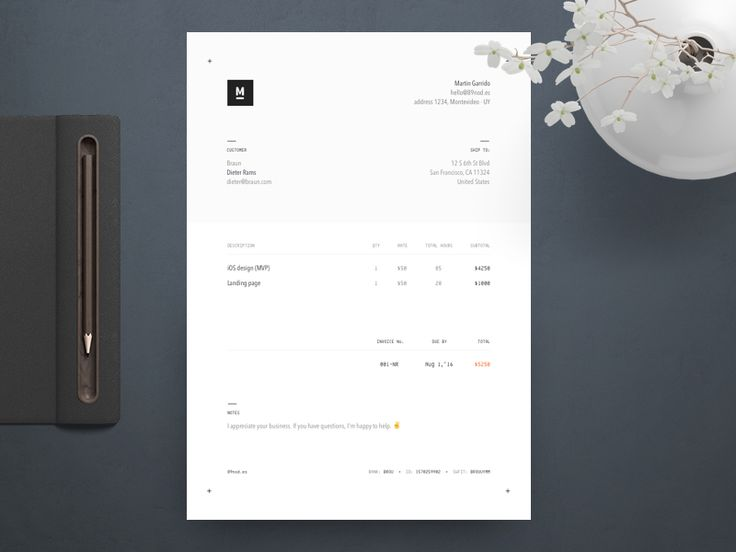 The 25+ best Invoice layout ideas on Pinterest Creative cv - invoice designs