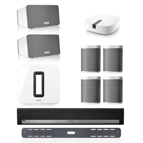 Sonos Playbar Multi-Room Whole House Home Theater System with Play