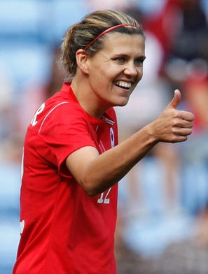 Christine Sinclair (team Canada Soccer)