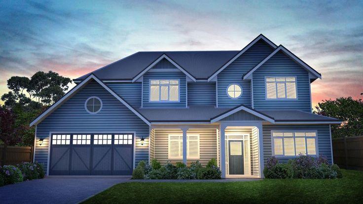 Maple House -Hampton Style Home
