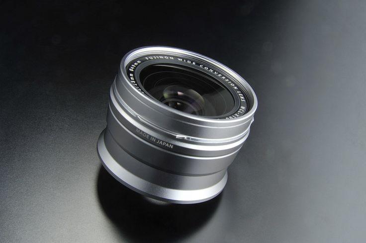 Fujifilm X100 Wide Angle Conversion Lens - Silver: Amazon.co.uk: Camera & Photo