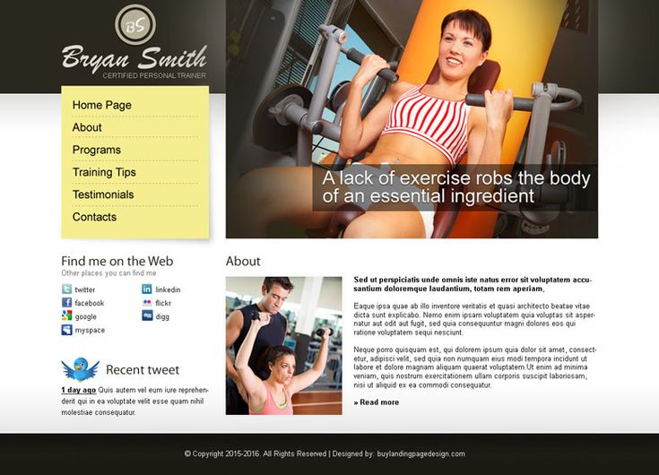Mejores 16 imágenes de website templates psd en Pinterest ...