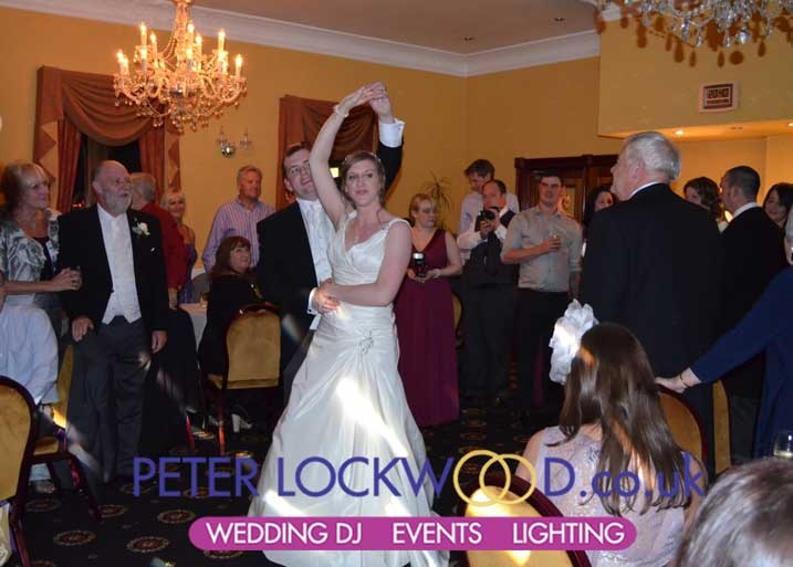 Trust Peter Lockwood Wedding DJ With Your Big Day At The Moss Lodge Rochdales Best Intimate Venue