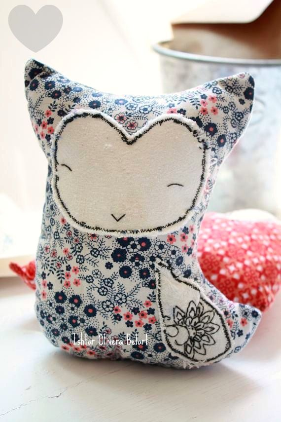 owl softies! so cute!
