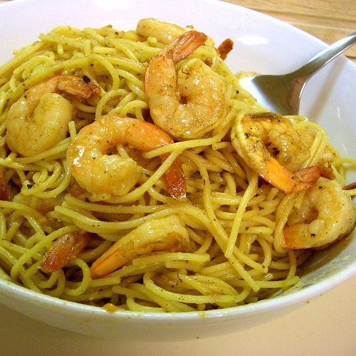 Lemon butter shrimp and pasta recipes