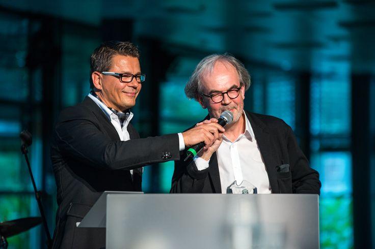 Veli-Matti Savo and Rainer Mahlamäki at the Martela Open Day on the 19th of September 2013