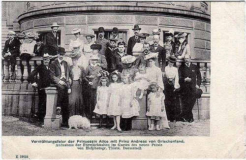 Hochzeitsfeier Alice von Battenberg mit Andreas von Griechenland, Wedding of the parents of the Duke of Edinburg | Flickr - Photo Sharing!