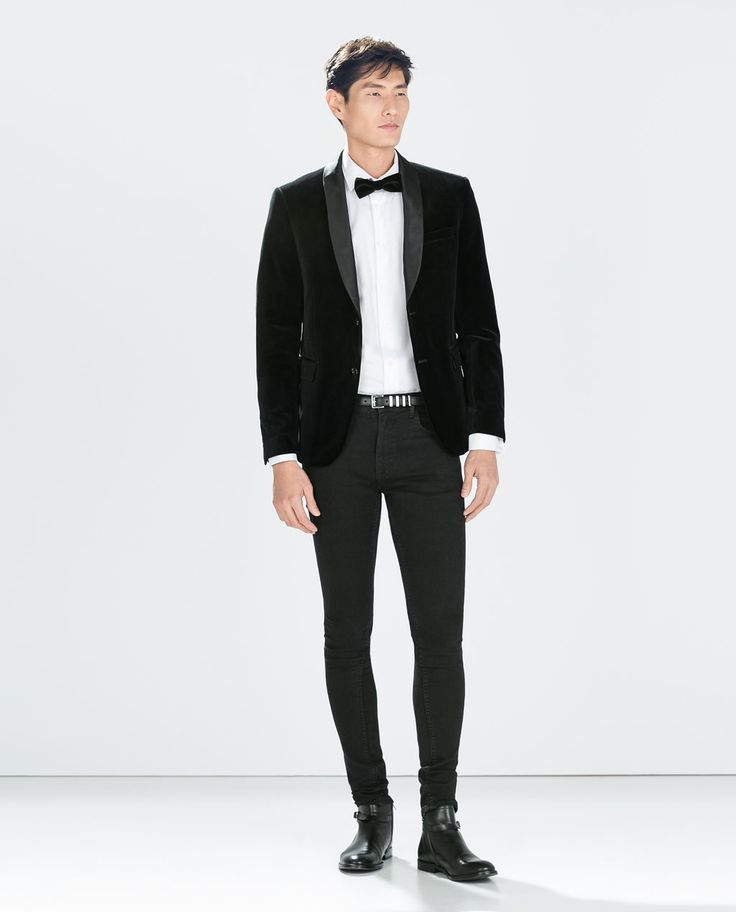 1000  images about ZALEKA Man on Pinterest | Black velvet blazer