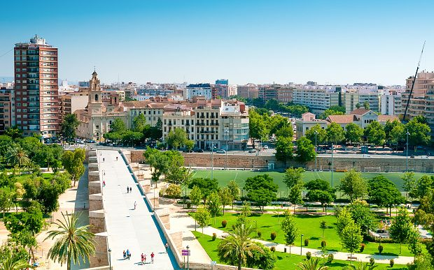 The Turia Gardens in Valencia Photo: Fotolia/AP