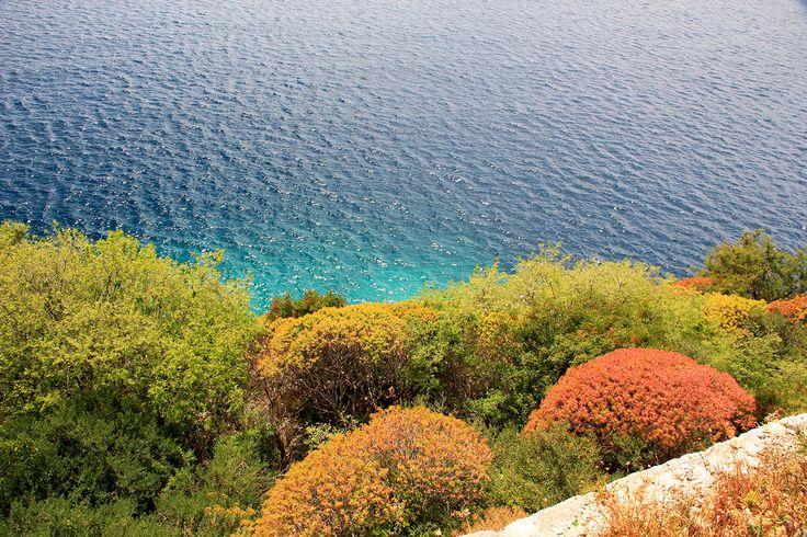 La mer vue du château de Palermo