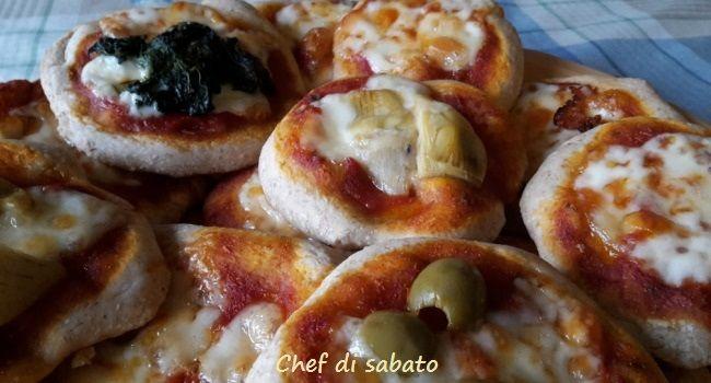 Pizzette con lievito naturale