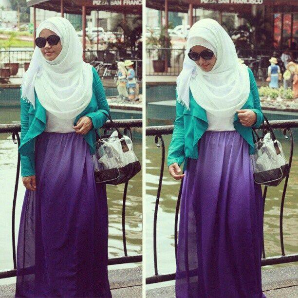 cool Purple Hijab Outfit Aggregate Ideas