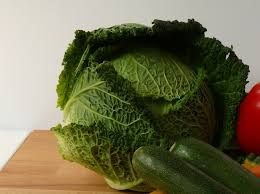 Savoy cabbage is a variety of the plant species Brassica oleracea. Savoy cabbage is a winter vegetable and one of several cabbage varieties.