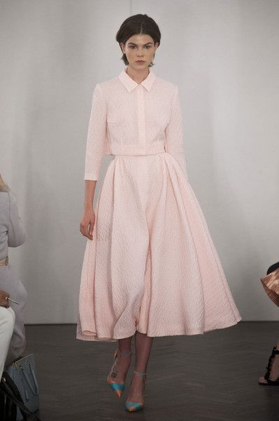 Emilia Wickstead, Spring 2014 - Best Runway Looks at London Fashion Week Spring 2014 - StyleBistro