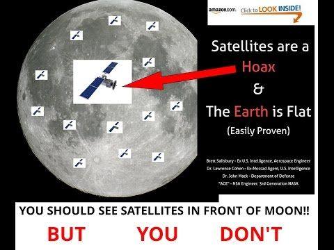 flat earth nasa satellite - photo #22