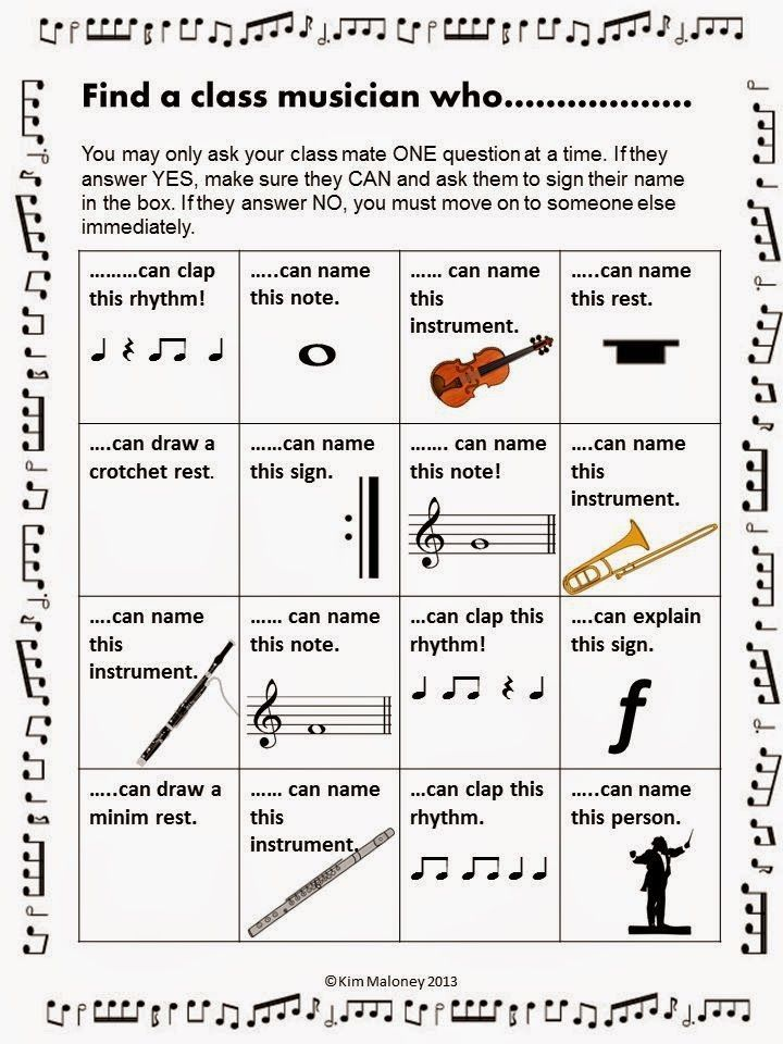 Music Games  |  Music Class Ice breakers.  ♫ CLICK through to see the set or save for later!   ♫