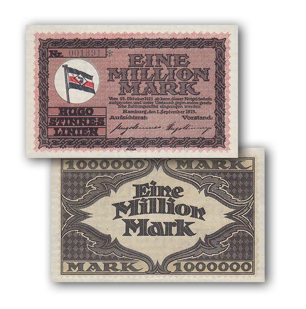 La banconota da 1 Milione di marchi