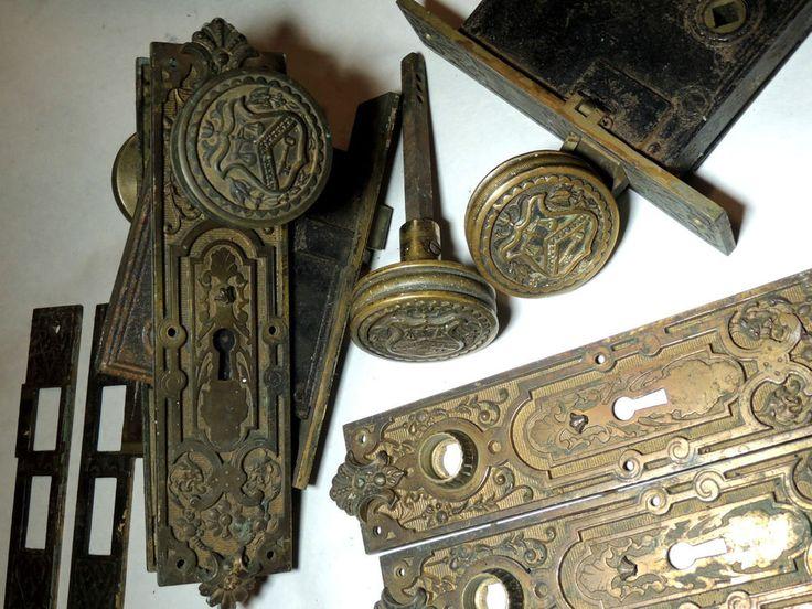 319 best Antique Door Hardware images on Pinterest | Lever door ...
