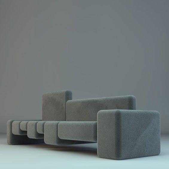 les 25 meilleures id es de la cat gorie canap modulable. Black Bedroom Furniture Sets. Home Design Ideas