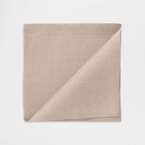 Tovagliolo Basic Lino Color Visone (Set di 2) - Tovaglioli - Sala da Pranzo | Zara Home Italia