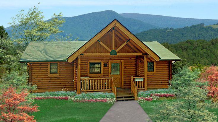 17 best images about log homes on pinterest name for 3 bedroom cabin kit