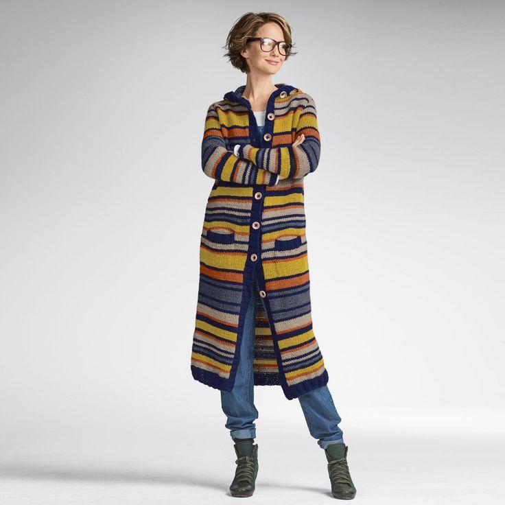 112 besten Mantel stricken Bilder auf Pinterest | Strick ...