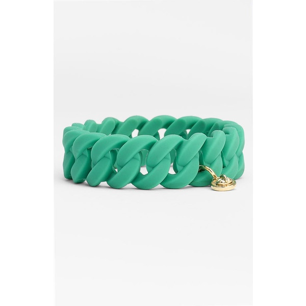 Marc By Marc Jacobs 'rubber Turnlock' Stretch Bracelet ($32) ❤ liked on Polyvore