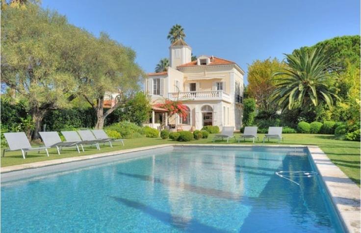Villa Cap d'Antibes, France #location #villa