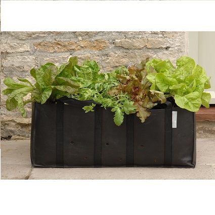 Deze plantntassen van de Wiltfang zijn geschikt voor het telen van groenten zoals sla, andijvie, courgette en broccoli. De tas past in de grote wilgentenen balkonmand en is gemaakt van ademend materiaal met speciale afwatering gaatjes.