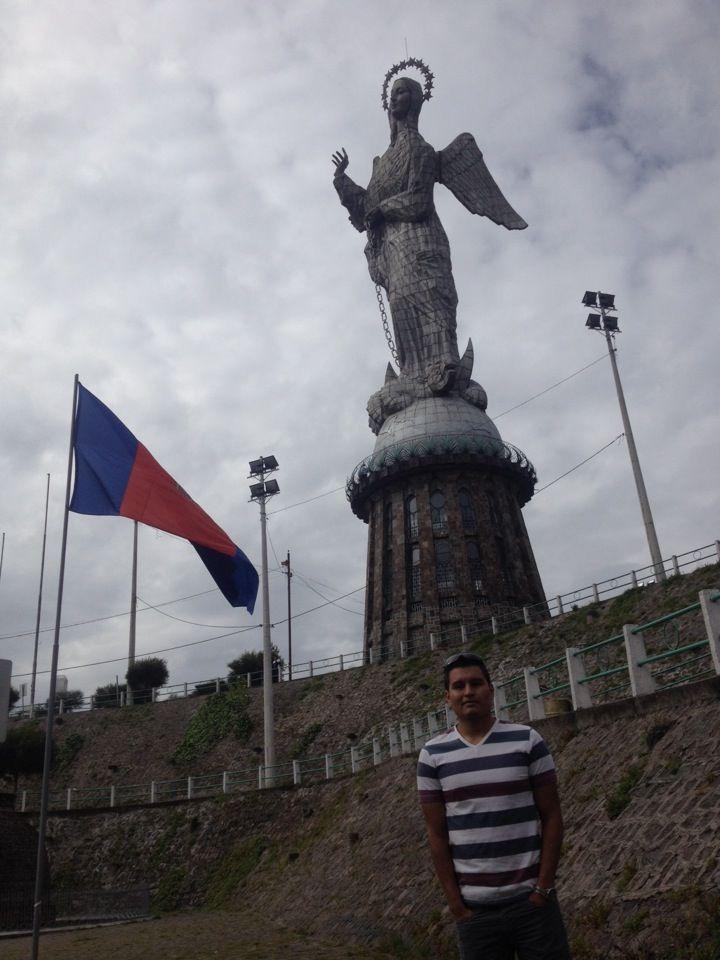 El Panecillo en Quito, Pichincha