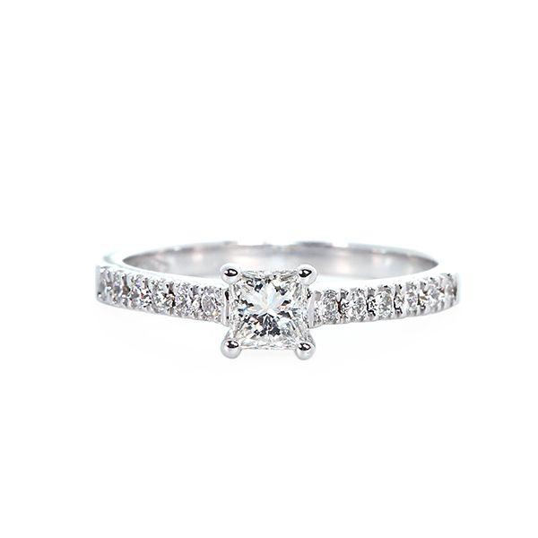 Baby Princess Diamond Ring - DiamondsDubai ae | Diamonds Dubai