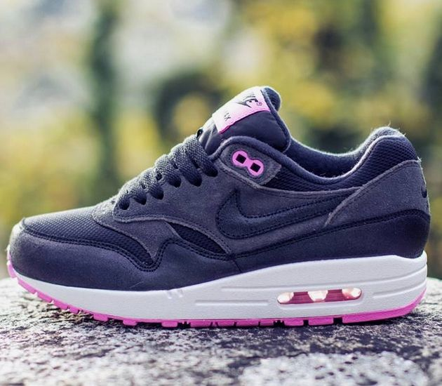 Wmns Nike Air Max 1 Blue Pink Purple White