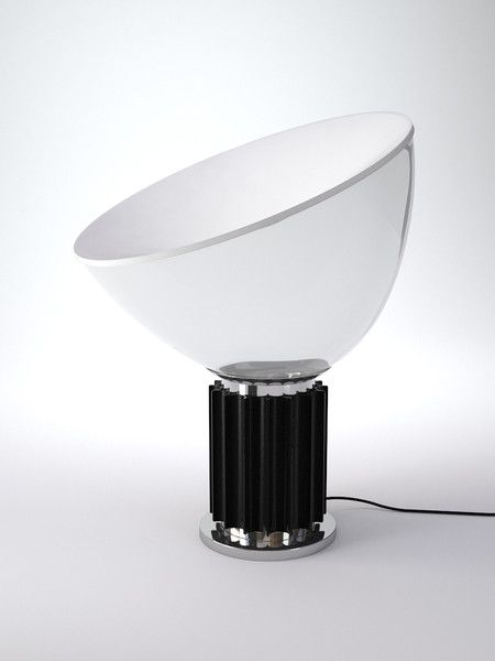 Taccia Table Lamp Designed by the Castiglioni brothers for Flos in 1962,