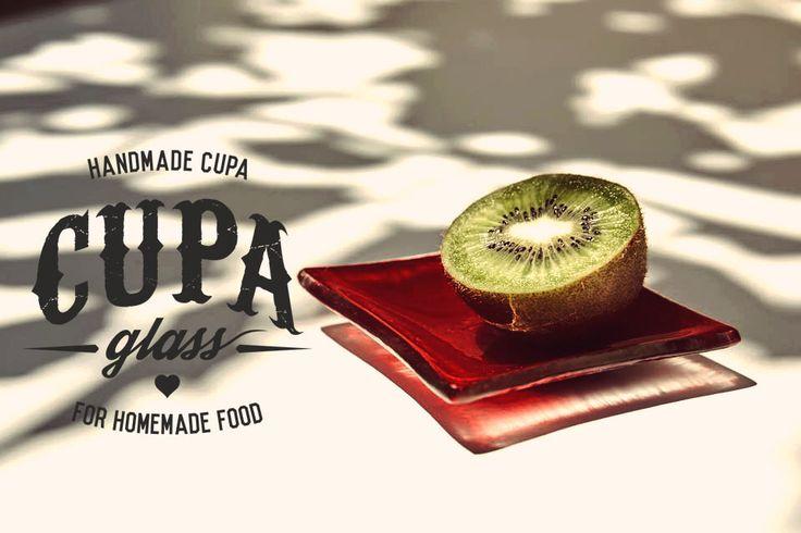 Handmade plates by Cupa Glass