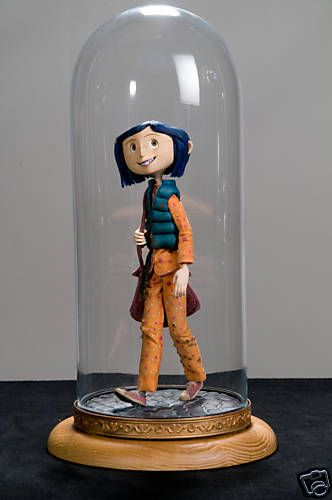 In the process of collecting these AWESOME Coraline Dolls.   <3 them!